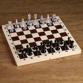 Фигуры шахматные, король h=5.8 см, пешка h=2.8 см Ош