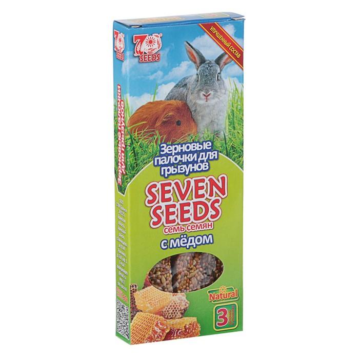 """Палочки """"Seven Seeds"""" для грызунов, медовые, 3 шт, 90 г"""