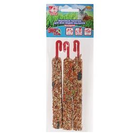 Палочки Seven Seeds Эконом для грызунов, овощи/тропические фрукты/орех, 3 шт, 75 г Ош
