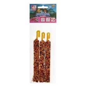 Палочки Seven Seeds Эконом для птиц, кунжут/мёд,/кокос, 3 шт, 75 г Ош