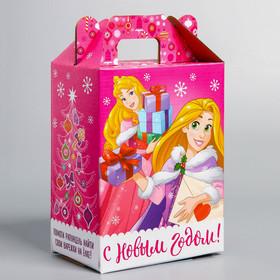 Подарочная коробка «С Новым Годом!», Принцессы, 16 х 21 х 10 см