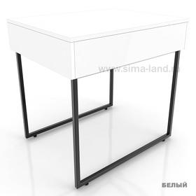 Столешница для стола, цвет белый (подстолье приобретается отдельно) Ош