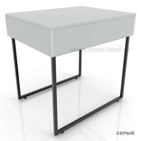 Столешница для стола, цвет серый (подстолье приобретается отдельно) Ош