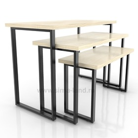 Столешница для стола (1200х600), цвет клён (подстолье приобретается отдельно) Ош