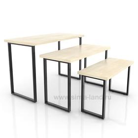 Столешница для стола (1050х500), цвет клён (подстолье приобретается отдельно) Ош