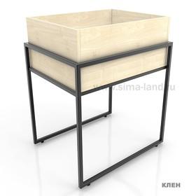 Накопитель высокий, цвет клён (каркас стола приобретается отдельно) Ош