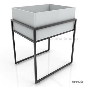 Накопитель высокий, цвет серый (каркас стола приобретается отдельно) Ош