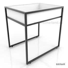 Накопитель низкий, цвет белый (каркас стола приобретается отдельно) Ош