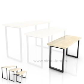 Столешница для стола (900х400), цвет белый (подстолье приобретается отдельно) Ош