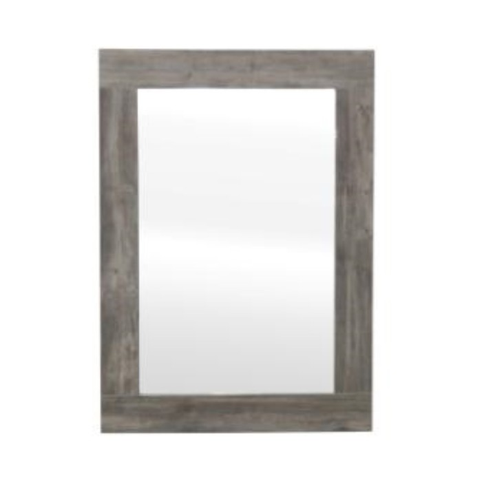Зеркало Барбер, цвет серо-коричневый