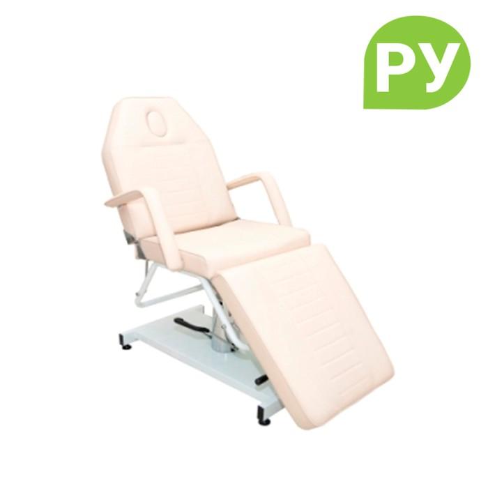 Кресло космет 6906 гидравлика, цвет слоновая кость