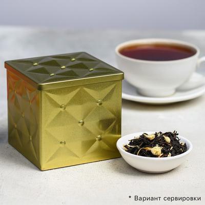 Чай чёрный «Подарочный»: жасмин, 100 г. - Фото 1