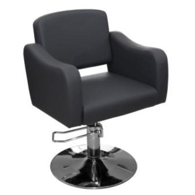 Кресло парикмахерское Ева, цвет чёрный 65х63 см