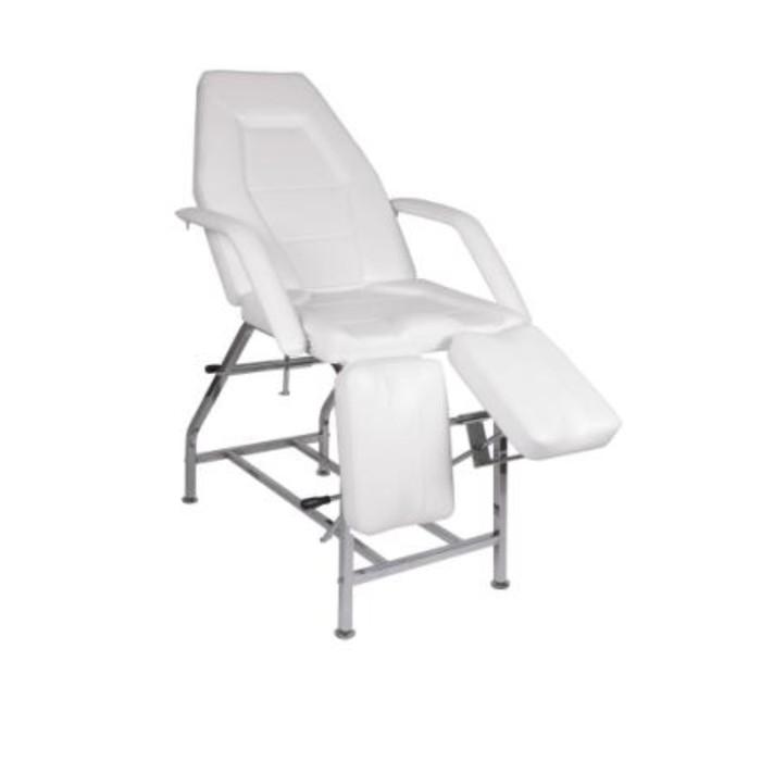 Кресло педикюрное ПК-01 ПЛЮС, цвет белый