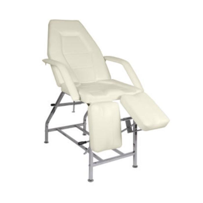 Кресло педикюрное ПК-01 ПЛЮС, цвет слоновая кость