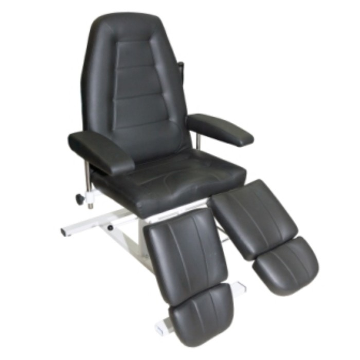 Кресло педикюрное ПК-03 гидравлика, цвет чёрный