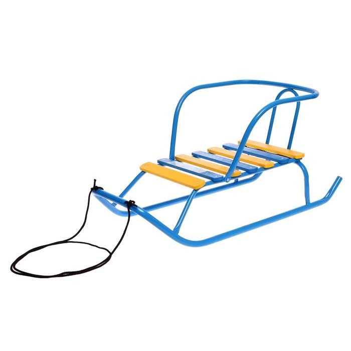 Санки «Ветерок 1», цвет синий