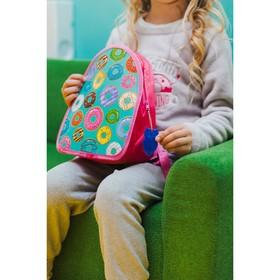 Рюкзак детский, отдел на молнии, цвет розовый Ош