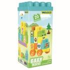 Конструктор Baby Blocks, 20 элементов