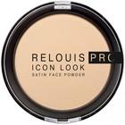 Пудра для лица Relouis Icon Look Satin Face Powder, тон № 01
