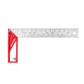 Угольник KAPRO 353-25, разметочный, гравированная разметка, выдвижная опора, 25 см