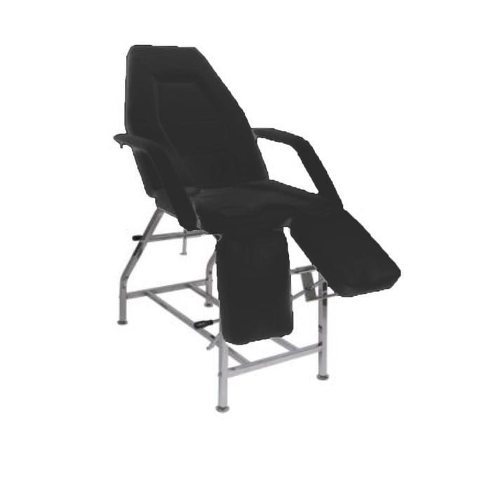 Кресло педикюрное ПК-01 ПЛЮС, цвет чёрный