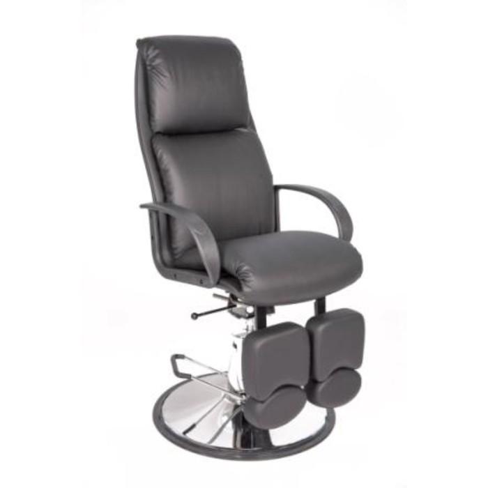 Кресло педикюрное Сатурн на гидроподъемнике, цвет чёрный
