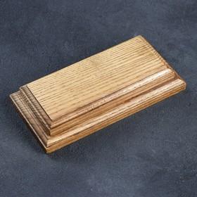 Доска для фудфото, для подачи, 19×9,5 см, массив дуба