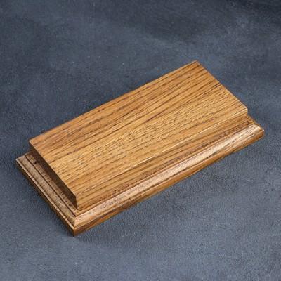 Доска для фудфото, для подачи, 19×9 см, массив дуба