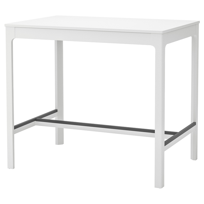 Барный стол ЭКЕДАЛЕН, цвет белый