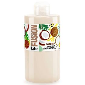 Шампунь Life Fusion «Кокос», для жирных волос, 460 мл