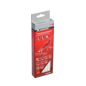 Стержни клеевые Matrix 930733, 11x200 мм, белые, 12 шт.