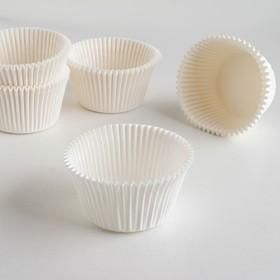 Форма для выпечки белая, 5,5 х 4,3 см Ош
