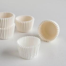 Форма для выпечки белая, 3 х 2,4 см Ош