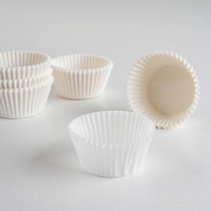 Тарталетка, белая, 4 х 2,6 см