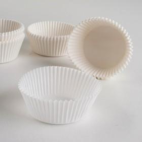 Тарталетка, белая, 5 х 2,5 см