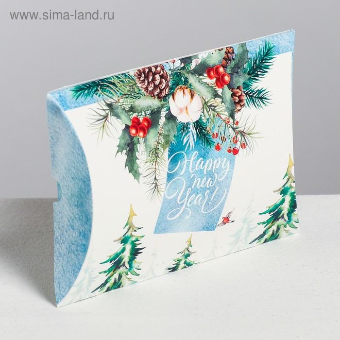 Коробка сборная фигурная «Для тебя в Новый год», 11 × 8 × 2 см