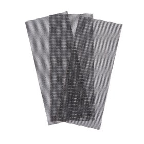 Сетка абразивная Remocolor 31-8-208, карбид кремния, сеточная основа, Р80, 115х280 мм, 3 шт. Ош