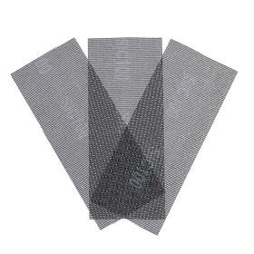 Сетка абразивная Remocolor 31-8-210, карбид кремния, сеточная основа, Р100, 115х280 мм, 3шт.   45389 Ош