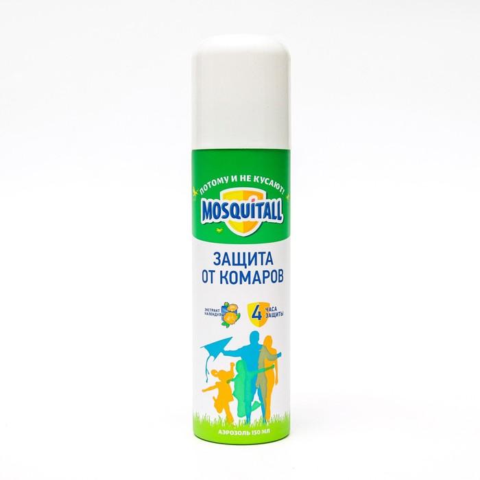 Аэрозоль от комаров Mosquitall «Защита для взрослых», 150 мл