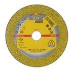 Круг отрезной по металлу KLINGSPOR 235375, d=150х22.2 мм, 10200 об/мин, толщина 2.5 мм