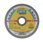 Круг отрезной по металлу и нержавеющей стали KLINGSPOR 202401, d=125х22.2 мм, толщина 1 мм