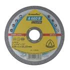 Круг отрезной по металлу KLINGSPOR 328906, d=125х22.2 мм, 12200 об/мин, толщина 1 мм