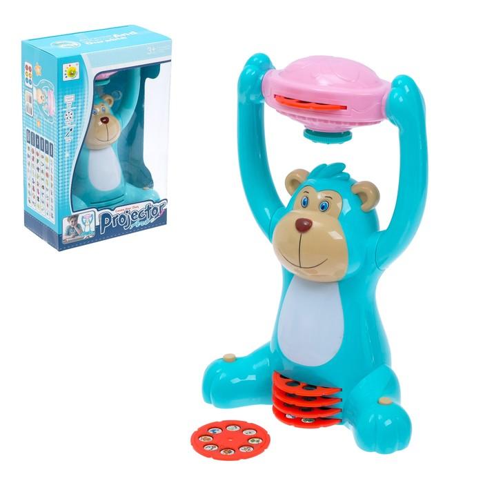 Игрушка-проектор «Весёлая обезьянка», со световыми эффектами