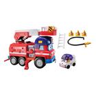 Игровой набор «Спасатели», с машиной Спарки и трансформером Зоуи, 9 см
