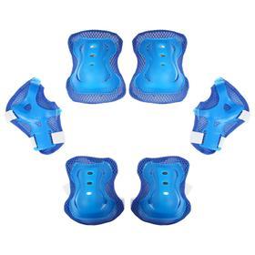 Защита роликовая OT-2020 р L, цвет синий