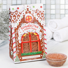 """Соль для ванн """"Волшебства в Новом году"""", с ароматом шоколадного пирога, 400 г"""