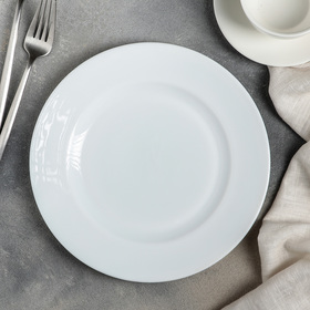 Тарелка десертная Доляна «Классика», d=22,5 см