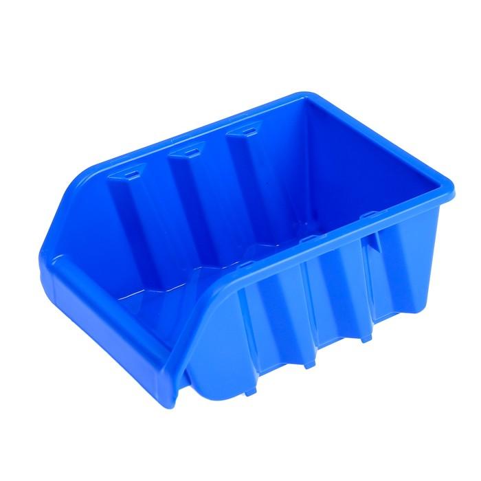 Лоток для метизов 2, 160х115х75 мм, синий