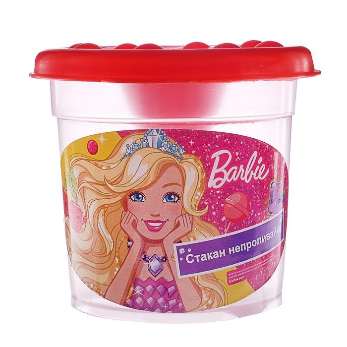 Стакан-непроливайка «Барби»